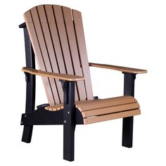 online shopping for LuxCraft Recycled Plastic Royal Adirondack Chair from top store. See new offer for LuxCraft Recycled Plastic Royal Adirondack Chair Pool Furniture, Best Outdoor Furniture, Rustic Furniture, Painted Furniture, Furniture Covers, Furniture Ideas, Outdoor Seating, Outdoor Chairs, Outdoor Decor