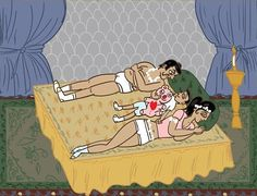 These Kama Sutra Comic Strips For Married Couples Are Laugh Out Loud Funny Karma Sutra, Goofy Dog, Pose, After Marriage, Parenting Humor, Married Life, New Age, Comic Strips, Laugh Out Loud