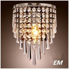 37.50$  Buy now - http://alil59.shopchina.info/go.php?t=32572803892 - Modern style led Wall Lamps bedside lamp Bedroom Stair lamp Crystal wall Lights e14 Led single gold silver Color indoor lighting 37.50$ #magazineonline