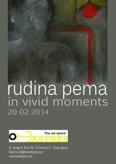 Art exhibition albania of Rudina Pema