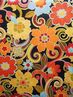 ZAVALLA BLACKOUT Yard of Fabric
