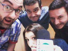 Un no parar con los amiguetes de #LosMadrugadores en #RadioGorbea by enriquechazarra