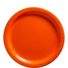 Orange Paper Lunch Plates 20ct - Party City