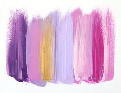 Colors 36 - an original painting by Jen Ramos at Cocoa & Hearts