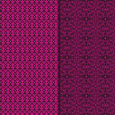 Download Digital Paper Pack Retro & Vintage Bright Pink on Black Online | Gidget Designs