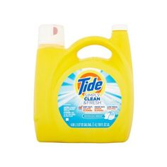 Tide Simply Clean Fresh HE Liquid Laundry Detergent, Refreshing Breeze... ❤ liked on Polyvore featuring home, home improvement and cleaning