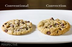 Chocolate Chip Toffee Cookies                       Convection Baked Cookies I have to try these the next time I bake cookies, I have never used my convection oven for baking.