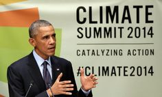 Obama promised to help poorer countries new tools to address the effects of climate change through science and tech at this at the U.N. General assembly this week.