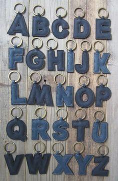 Label 88; A, B, C, keyrings