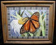 Artist Watch Series – Page 2 – Kim Grant Mosaics – Mania & Mischief Butterfly Mosaic, Mosaic Birds, Mosaic Flowers, Glass Butterfly, Mosaic Crafts, Mosaic Art, Mosaic Glass, Stained Glass, Glass Art
