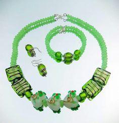 Murano...green...summer Charmed, Jewellery, Bracelets, Green, Summer, Bangles, Jewelery, Jewelry Shop, Arm Bracelets