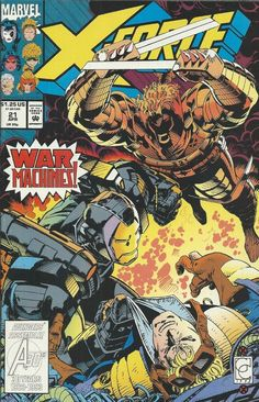 Marvel X-Force comic issue 21