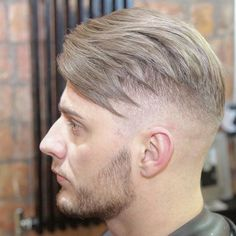 dannyandcobarbers-Textured_side_sweep_with_a_little_skin_fade