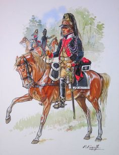 French; La Légion de Police Générale, Chasseur, Raised in Vendemiaire Year IV(October 1795). The Legion consisted of two demi-brigades of infantry & two squadrons of Chasseurs a Cheval.