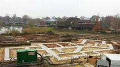 Bouwbedrijf de Jong realiseert nieuwbouwwoning in Enschede, de eerste constructie is voltooid!