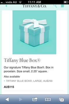 Tiffany trinket box