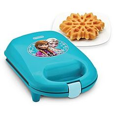 Anna and Elsa Snowflake Waffle Maker | Disney Store Now you can have a power breakfast at home with Anna and Elsa's Snowflake Waffle Maker, so easy to use you'll frost the kitchen competition.