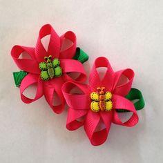 sculpture hair bows | flower sculptures hair bows