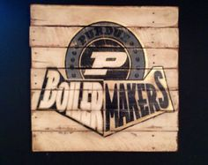 Purdue University Wall Hanging / Purdue Boilermakers Sign