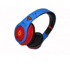 New Arrival Monster Beats by Dr. Dre Monster Studio Dwight Howard High-Definition On-Ear Headphones Red/Blue $ 184.00 go to http://www.cheapdrebeatheadphones.com/