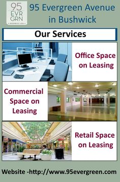 We are providing many kinds of spaces such as retail, commercial and office space, If you are looking for space on leasing