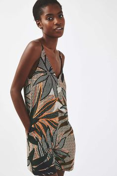 **Neon Tribal Slip Playsuit by Nobody's Child - Brands at Topshop - Clothing - Topshop Europe Topshop Outfit, Topshop Clothing, Asos, Kids Branding, Playsuit, Wrap Dress, Tropical Leaves, Greed, Bandanas