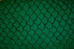 Would love to make something out of this. Suede Tilapia Fish Leather Bright Dark Green by TheFishLeatherCo