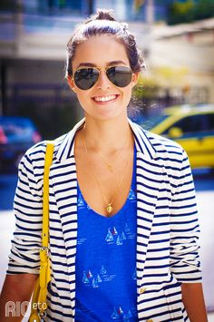striped jacket and sailboat tank