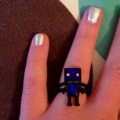 Robot mood ring (: