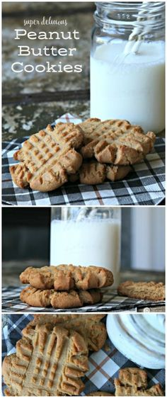 Peanut butter Cookies | This is your tried and true Peanut Butter Cookie Recipe! Turns out EVERY TIME! Click the photo to find the recipe on http://TodaysCreativeLife.com