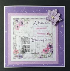 Hunkydory Crafts, Hunky Dory, Our Friendship, Blessed, Canning, Create, Cards, Inspiration, Biblical Inspiration