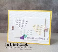 Embossing Folder, Baby Cards, I Card, Super Easy, Stampin Up, Card Stock, Crafty, Frame, Card Ideas