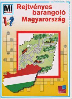 Marci fejlesztő és kreatív oldala: Rejtvényes barangoló- Magyarország