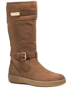 COACH TALLULAH FAUX SHEARLING COLD WEATHER BOOTS - Boots - Shoes - Macy's