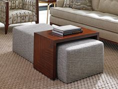 Take Five Broadway Cocktail Ottoman W/Slide | Lexington Home Brands