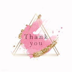 """""""A simple """"thank you"""" goes a long way, so if we haven't said it to our before, we'd like to say it now: you for everything. Pink Instagram, Instagram Logo, Green Watercolor, Watercolor Background, Thank You Images, Body Shop At Home, Instagram Highlight Icons, Color Street, Wallpaper Backgrounds"""