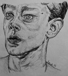 #billybibbit #movie #sketchdrawing #ink #oneflewoverthecuckoo'snest #jacknicholson