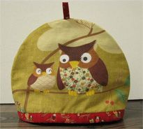 Easy tea cozy (PUT AN OWL ON IT)