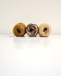 Brown Rustic Jute Twine / string / Yarn for craft by 464Handmade, $20.00
