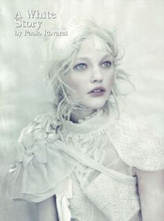 A White Story - Ghastly Photoshoot for Italian Vogue | Hunie
