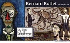 Bernard Buffet en el Museo de Arte Moderno de #París #BernardBuffet