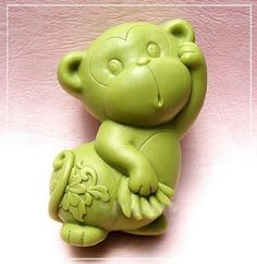 1 Piece Artistic Soap Mold Silicone Soap Mold Monkey Mold 86*55*35mm *** Click image for more details.