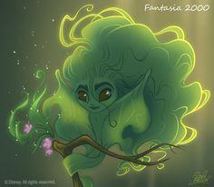 David Gilson: 50 Chibis Disney : Fantasia 2000