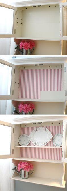 DIY Cabinet Makeover tutorial