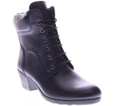 Spring Step Leather Ankle Boots - Machico