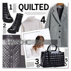 """""""QUILTED CHIC"""" by nanawidia ❤ liked on Polyvore featuring ADAM, womenswear and twinkledeals"""