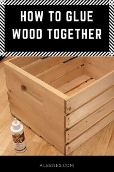 Picture of How to Glue Wood Together