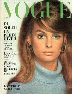 Vogue janvier 1968 Jean Shrimpton photographiée par David Bailey