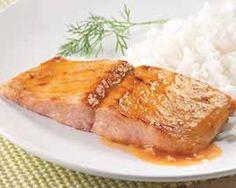 Mango Glazed Salmon