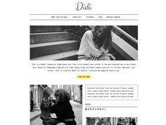 Didi Lite — Free WordPress Themes